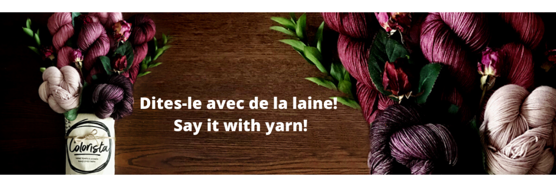 Say it with yarn